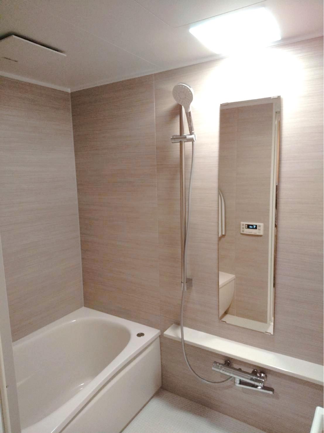 お風呂 TOTO WY リラックス リフォーム バスルームの画像